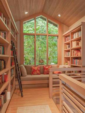 It's all about the nookie.  Reading nook, that is. What did you think?