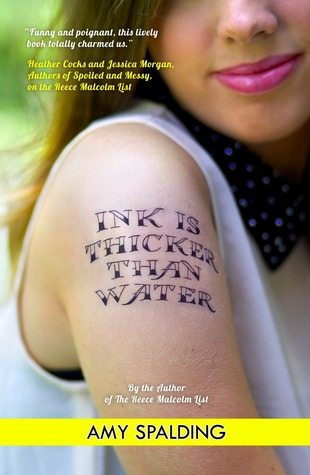 Ink Is Thicker Than Water By Amy Spalding The Daily Dosage