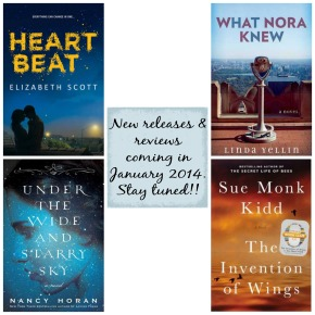 Coming Soon…January 2014 reviews….