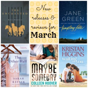 New releases and reviews for March