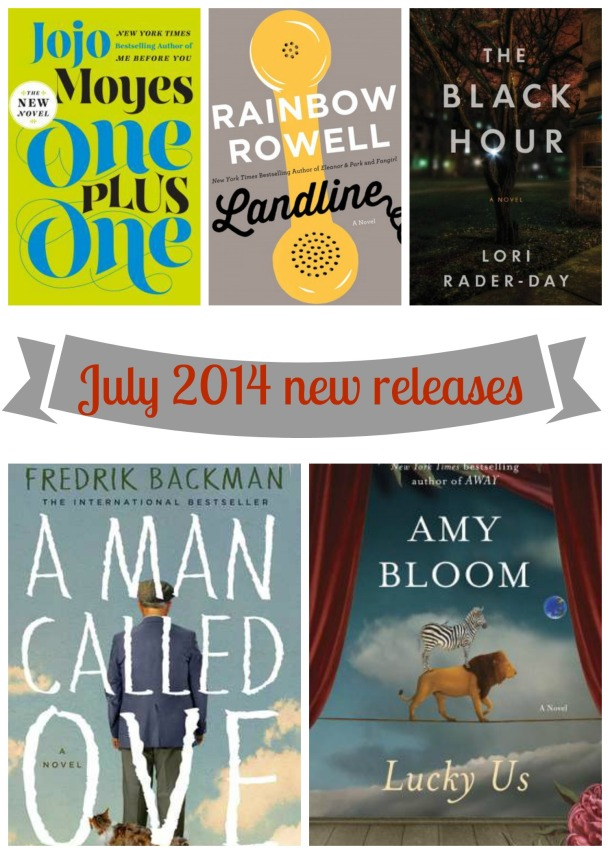 JUly 2014 new releases