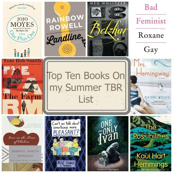 Summer TBR List