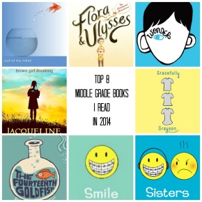 Top Middle Grade Books I Read in2014
