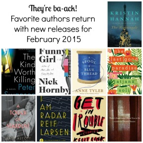 It's February, Get Your TBR Lists Ready! Part 2: Favorite Returning Authors
