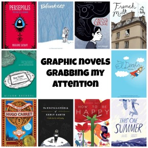 Graphic Novels I Want To Read. And No, Not THOSE GraphicOnes!