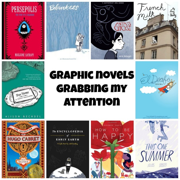 Top Ten Graphic Novelss