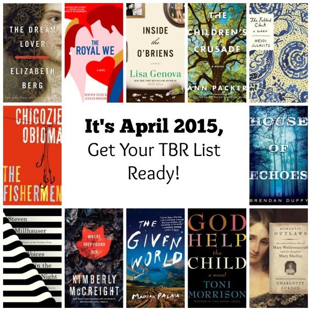 April 2015 TBR