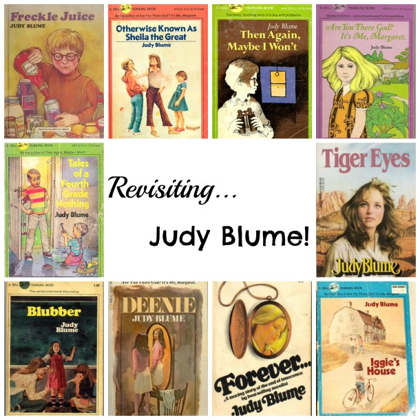 Judy Blume collage