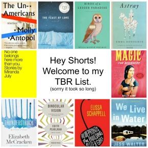 Hey Shorts, Welcome to my TBRList!