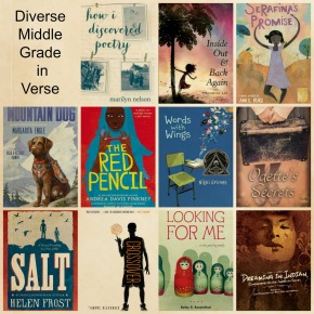 Celebrate Poetry Month With Diverse Middle Grade Books in Verse