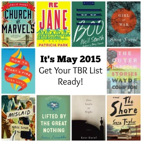 It's May 2015, Get Your TBR ListReady!
