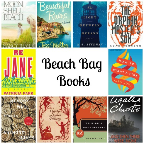 PicMonkey Collage beach bag books 2015