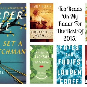 Making Room On The Shelves For These Six New Releases in 2015.