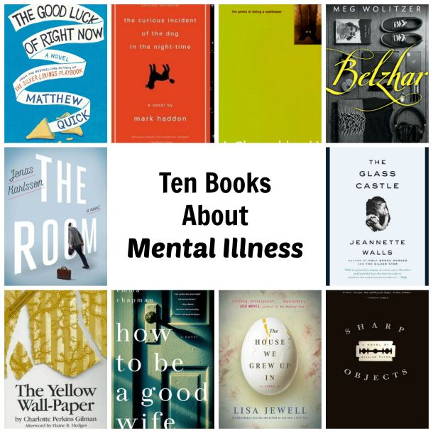 mental illness books