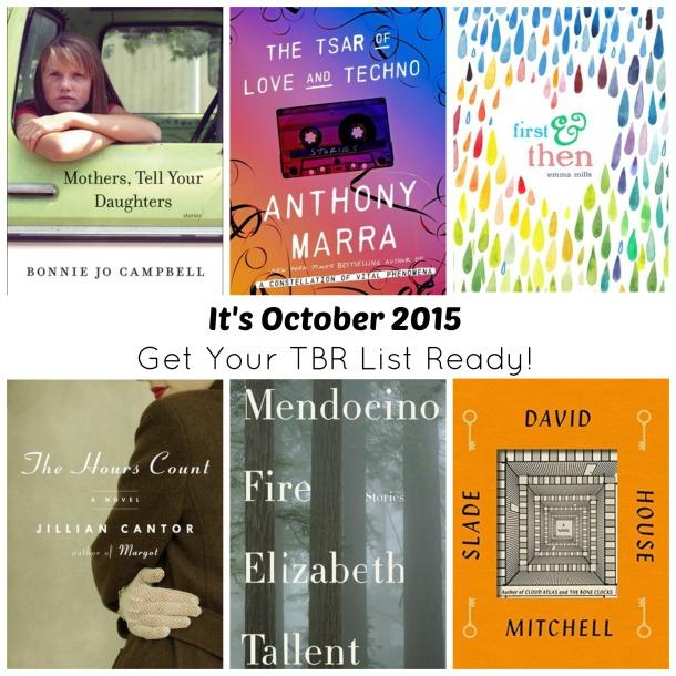 October 2015 TBR list