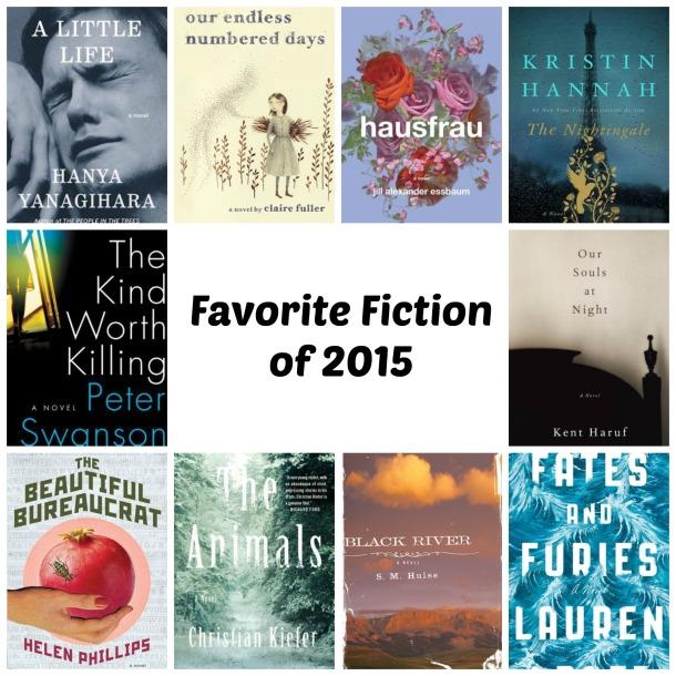 Favorite Fiction 2015