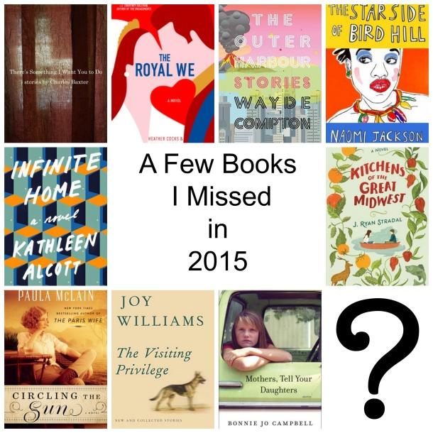Books I Missed in 2015