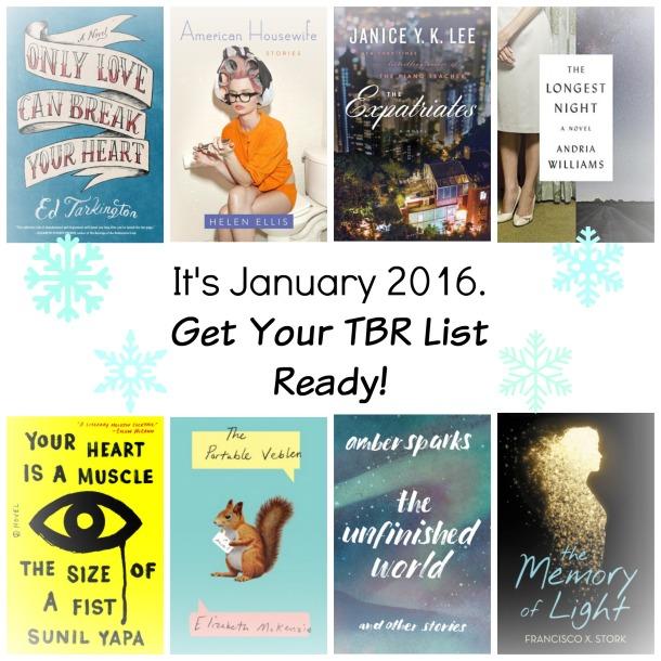JAN 2016 TBR List 2