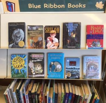 mg blue ribbin books