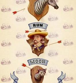 Dog Run Moon  by CallanWink