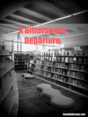 The Bittersweet Departure of Working in a Library