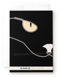 the black cat poe short