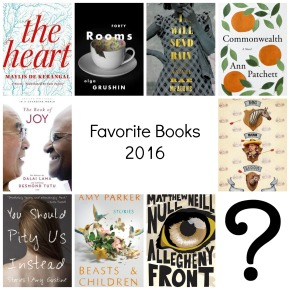 My Favorite Books of 2016